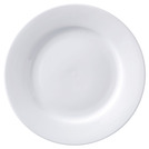 Superwhite Winged Plate 17cm