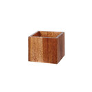 Wooden Buffet Cube Small 12 x 12 x 10cm