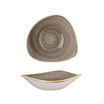 Stonecast Peppercorn Grey Triangle Bowl 23.5cm