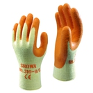 Showa 310y Grip Latex Coated Orange Glove