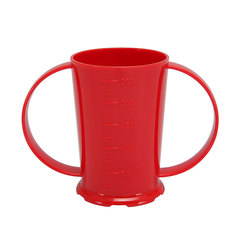 2 Handled Beaker Polycarb 26cl Red
