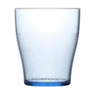 Textured Tumbler 280Ml Trans Blue