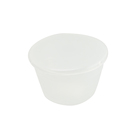 Pudding Basin Polypropylene 28cl 10cm With Lid