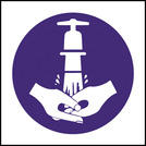 Kitchen Food Safety Wash Your Hands Symbol