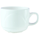 Bianco Cup White Stackable 21.25cl