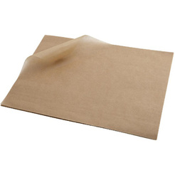 Greaseproof Paper 25 x 35cm (1000 Shts) Brown