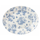 Vintage Prints Prague Toile Dish 36.5cm