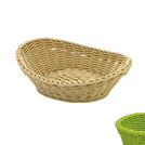 Oval Basket Curved Top Lime
