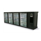 Gamko E3/2222GMU 4 Glass Door Bottle Cooler A/cite