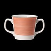Freedom Double Handled Mug Pink 10oz 28.5cl