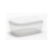 2ltr Rect Food Saver White Lid