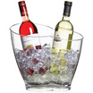 BarCraft Clear Acrylic Double Sided Drinks Cooler
