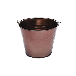 Metal Bucket 5.4cm High Copper