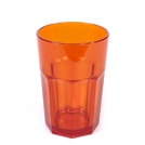 Harfield 340ml 12oz American Tumbler Trans Orange
