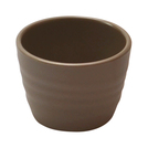 Stone Melamine Rippled Ramekin 7.5cl