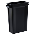 Svelte Bin with Venting Channels 87L, Black
