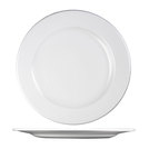 Profile Footed Plate White 33cm