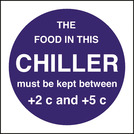 Kitchen Food Safety Food Temperature - Chiller