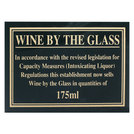Sign - Wine By The Glass 175ml