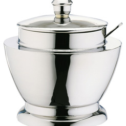 Contemporary Sugar Bowl Stainless Steel 35cl