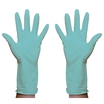 Safecare Rubber Gloves Green Large