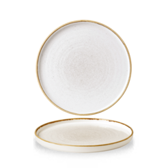 Stonecast Barley White Walled Plate 8.67 inch