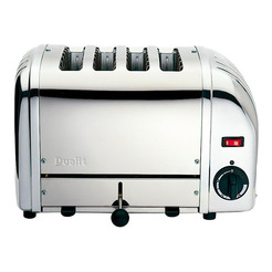 Dualit Stainless steel 4 Slot Toaster 1kw
