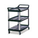 Utility Trolley All Purpose Black