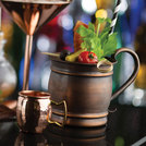Mini Copper Hammered Mug 2.75oz (7.5cl)