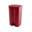 Step-on Bin 87L 50.2X44.7X82.6CM Red