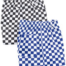 Brigade Chef Trousers Lge Black/White Check