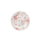 Vintage Cranberry Rose Chintz Plate 16.5cm