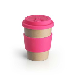 Eco To Go Rice Husk Cup 9oz Pink