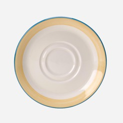 Rio Saucer For B9041YE Yellow 14.5cm