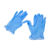Blue Vinyl Gloves Medium