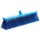 Professional Hygiene Broom Head Stiff Blue 50cm