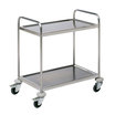 Prepara Self Assembly Service Trolley 2 Tier