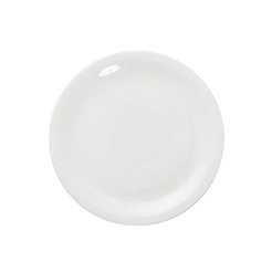 Great White Narrow Rim Plate 8.5 inch 22cm