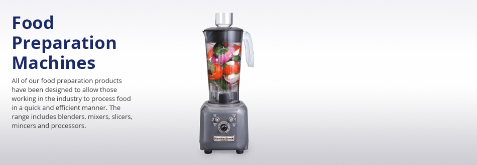 Food Preparation Machines Category Banner
