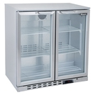 Blizzard BAR2SS Bottle Cooler 2 Hinged Doors S/S