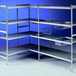 Polymer Shelves 4 Tier 772mm x 373mm