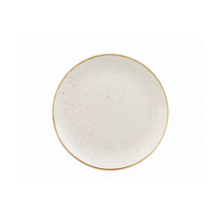Stonecast White Evolve Coupe Plate 8.67 inch