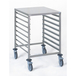 Gastronorm Storage Trolley - 8 Tier 2/1GN