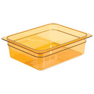 Gastronorm Container High Heat 1/2 100mm Amber