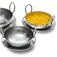 Balti Pans Category Image