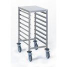Gastronorm Storage Trolley - 8 Tier 1/1GN
