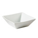 Quartet Bowl Square White 18 x 18cm