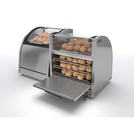 Vision VBOR Baking & Display Oven - Rear Loading