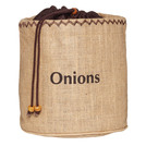 KitchenCraft Natural Elements Onion Jute Sack
