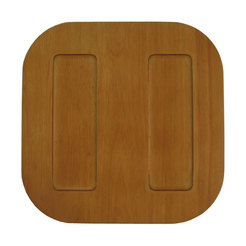 Taste Charger Plate Square Light Wood 30 x 30cm